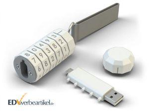 Sicherer USB Stick LOCKED als Werbegeschenk