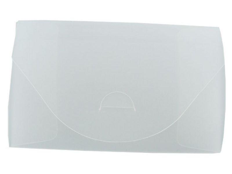 transparente Faltbox aus Kunststoff