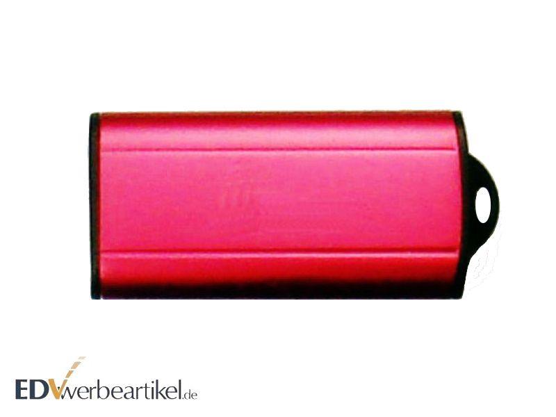Mini Werbeartikel - USB Stick Slider - rot