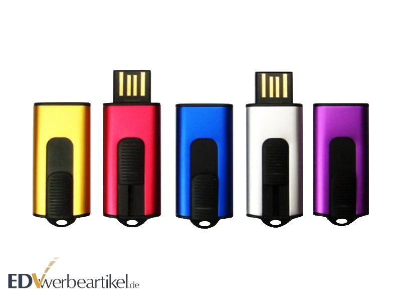 USB Stick mit Firmenlogo bedrucken - Slider