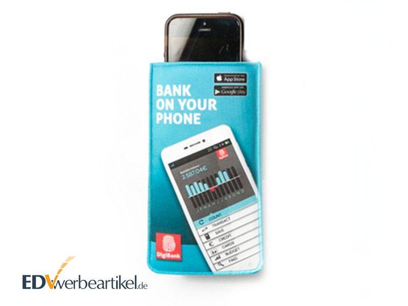 Smartphone Handytasche SLEEVE als Werbeartikel