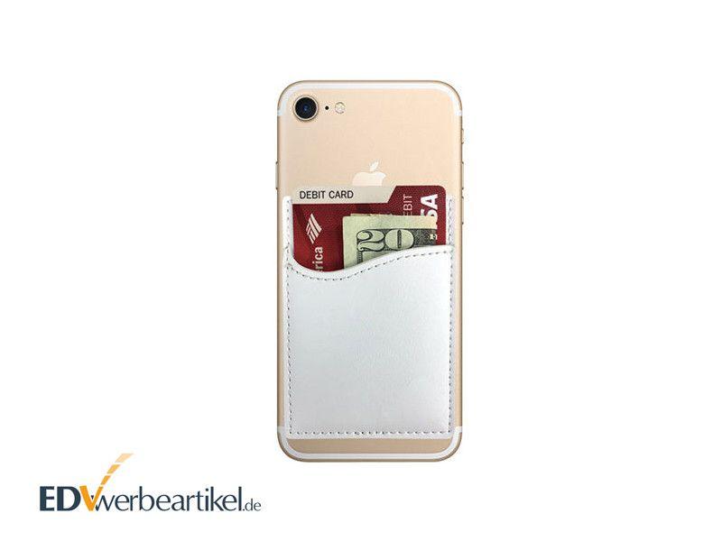 Smartphone Kartenhalter Giveaway mit Logo bedrucken WALLET