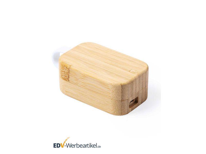 Kopfhörer Werbegeschenk Holz