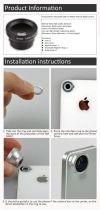Smartphone Zoom Objektiv - magnetisches Mini-Objektiv für das Handy