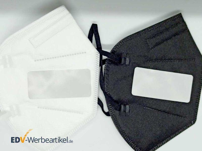 Aufkleber für Werbung auf Atemschutzmasken, Kleidung, Gepäckstücken STICKER