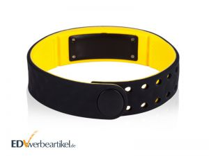 Fitness Armband Times Square - zwei Farben Werbeartikel - innen
