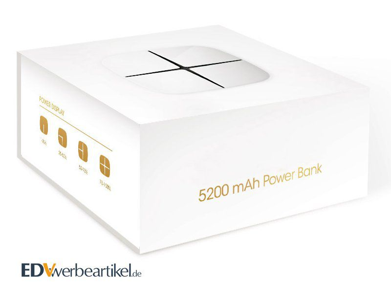Starlight Powerbank Werbegeschenk Verpackung Box