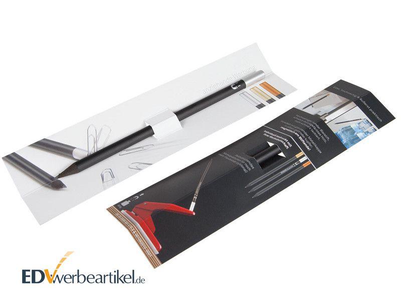 Stift Kugelschreiber Papier Etui Einstecktasche mit Aufdruck bedrucken