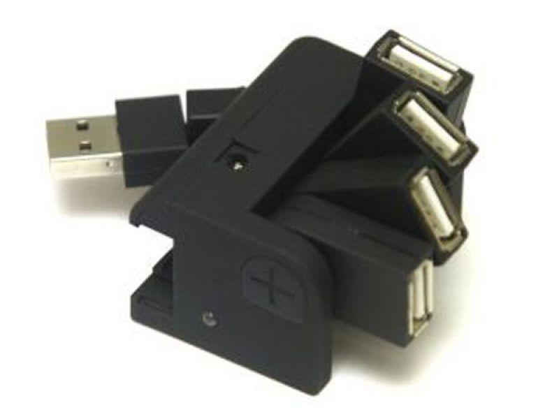 4 Port USB Hub 2.0 mit Ihrem Logo bedrucken als Werbegeschenk