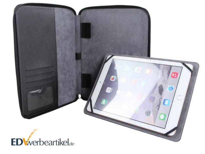 Tablet Dokumentenmappe iPad Konferenzmappe mit Logo bedrucken