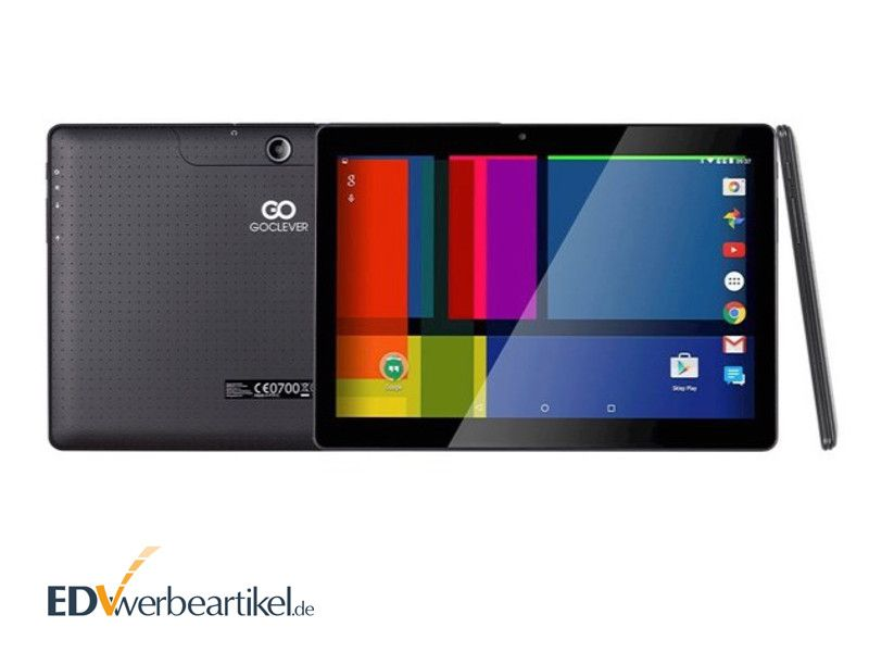 Tablet Werbemittel als digitaler Bilderrahmen mit Logo