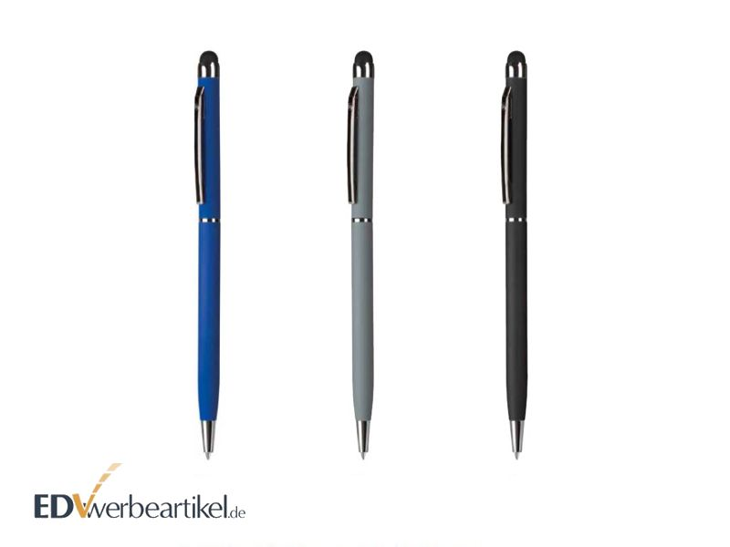 Kugelschreiber Touchpen SILKY mit Metall