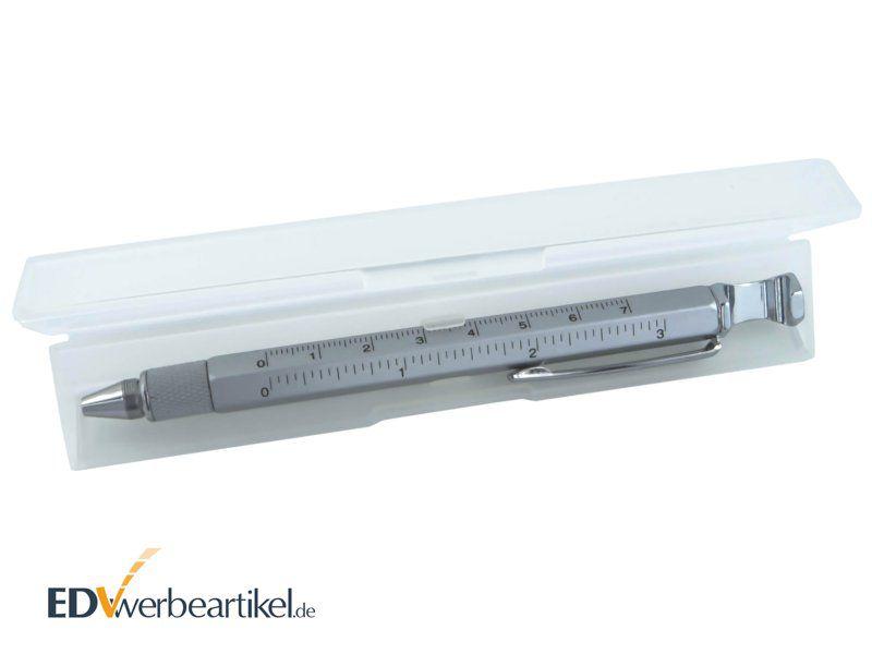 Touchpen Kugelschreiber Hülle aus Plastik - Geschenkverpackung