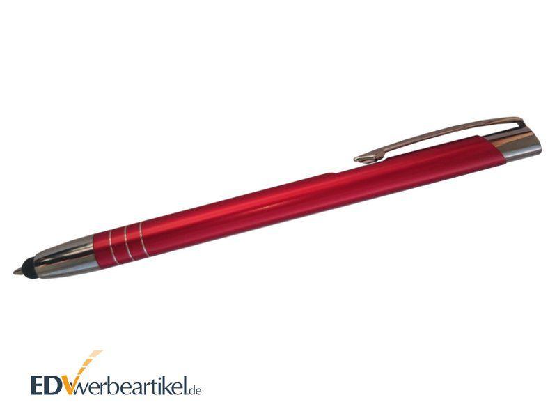 Touchpen Kugelschreiber mit Firmenlogo als Werbegeschenk