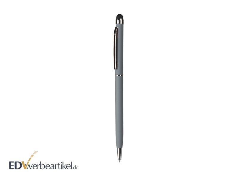 Kugelschreiber mit Logo und Stylus Eingabestift