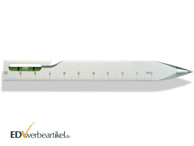 Touchpen Kugelschreiber Werbeartikel Wasserwaage TRIANGLE