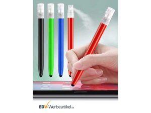 Touch Pen Werbeartikel mit Sprayfunktion DESINFECTION