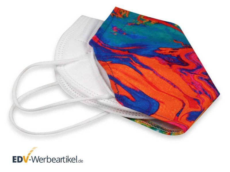Überziehmaske aus Stoff DOUBLE MASK - unsere Masken sollen schöner werden