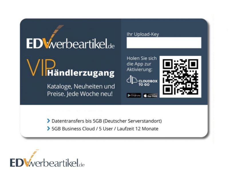 Universaler Webkey mit digitaler Visitenkarte - EDV-Werbeartikel