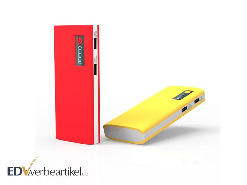 werbeartikel powerbank 13000 mah mit ihrem logo bedrucken. Black Bedroom Furniture Sets. Home Design Ideas