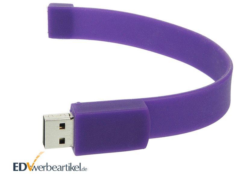 USB Armband bedrucken mit Logo als Werbeartikel