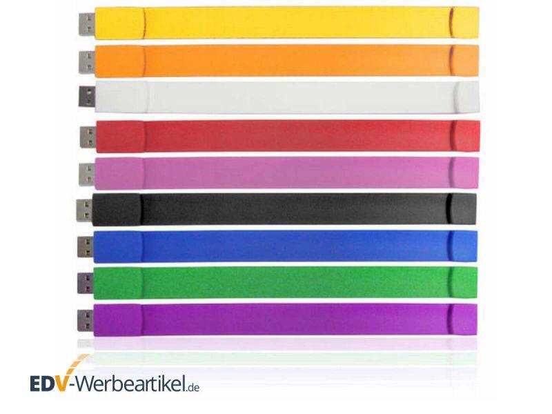 USB Armband SOFT - Farben Übersicht