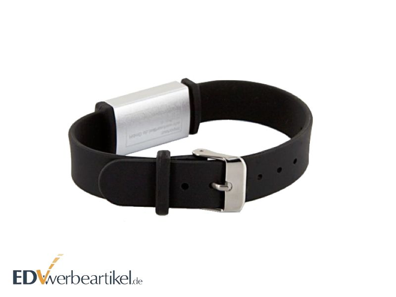 USB Armband Werbeartikel - schwarz