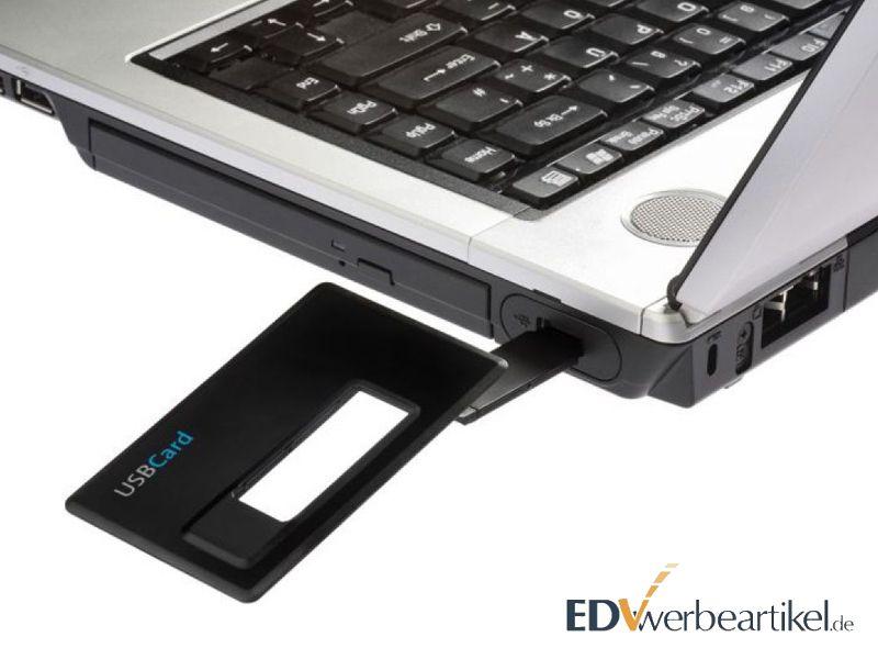 USB Card mit Logo als Werbemittel bedrucken