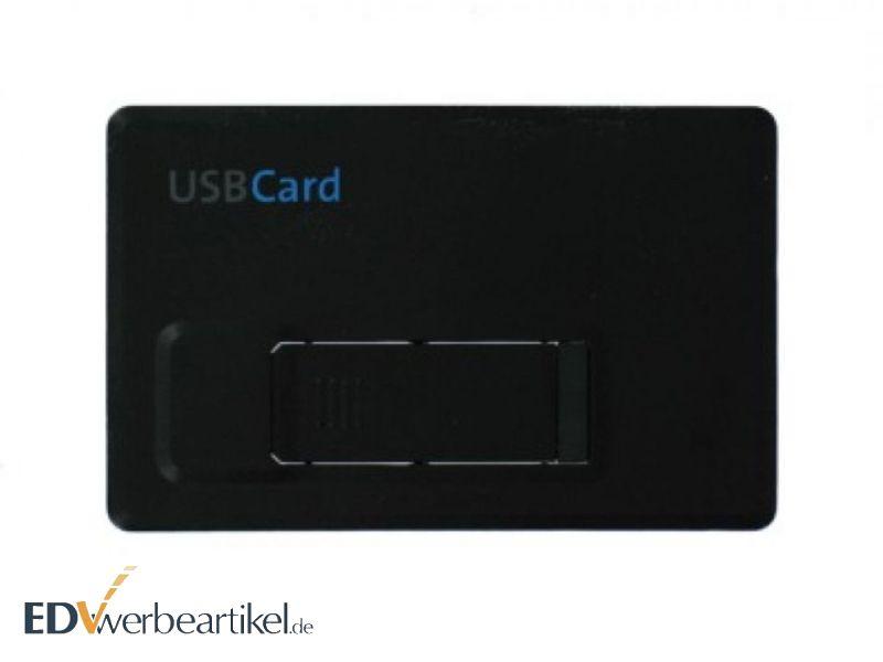 USB Scheckkarte Werbemittel mit Logo bedrucken