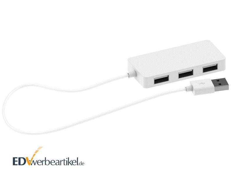USB Hub mit Logodruck FULLPRINT