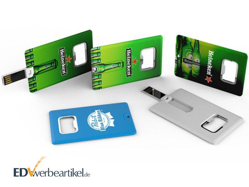 USB Karte Flaschenöffner Giveaway