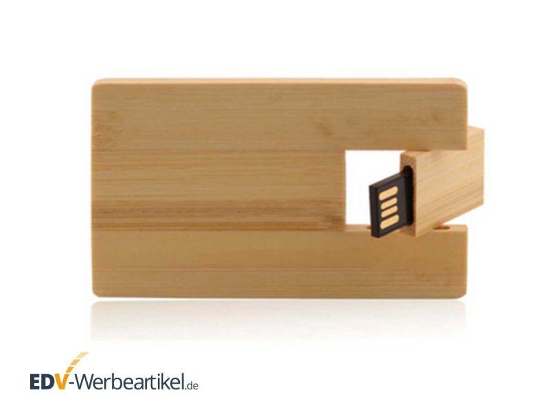 USB Visitenkarte HOLZ - ökologisch, natürlich und nachhaltig werben