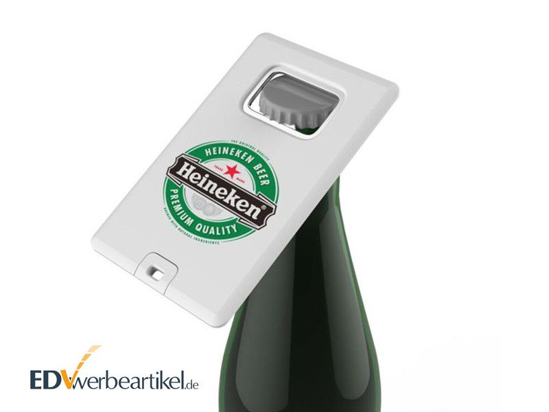 USB Karten Flaschenöffner Werbeartikel - BOTTLE