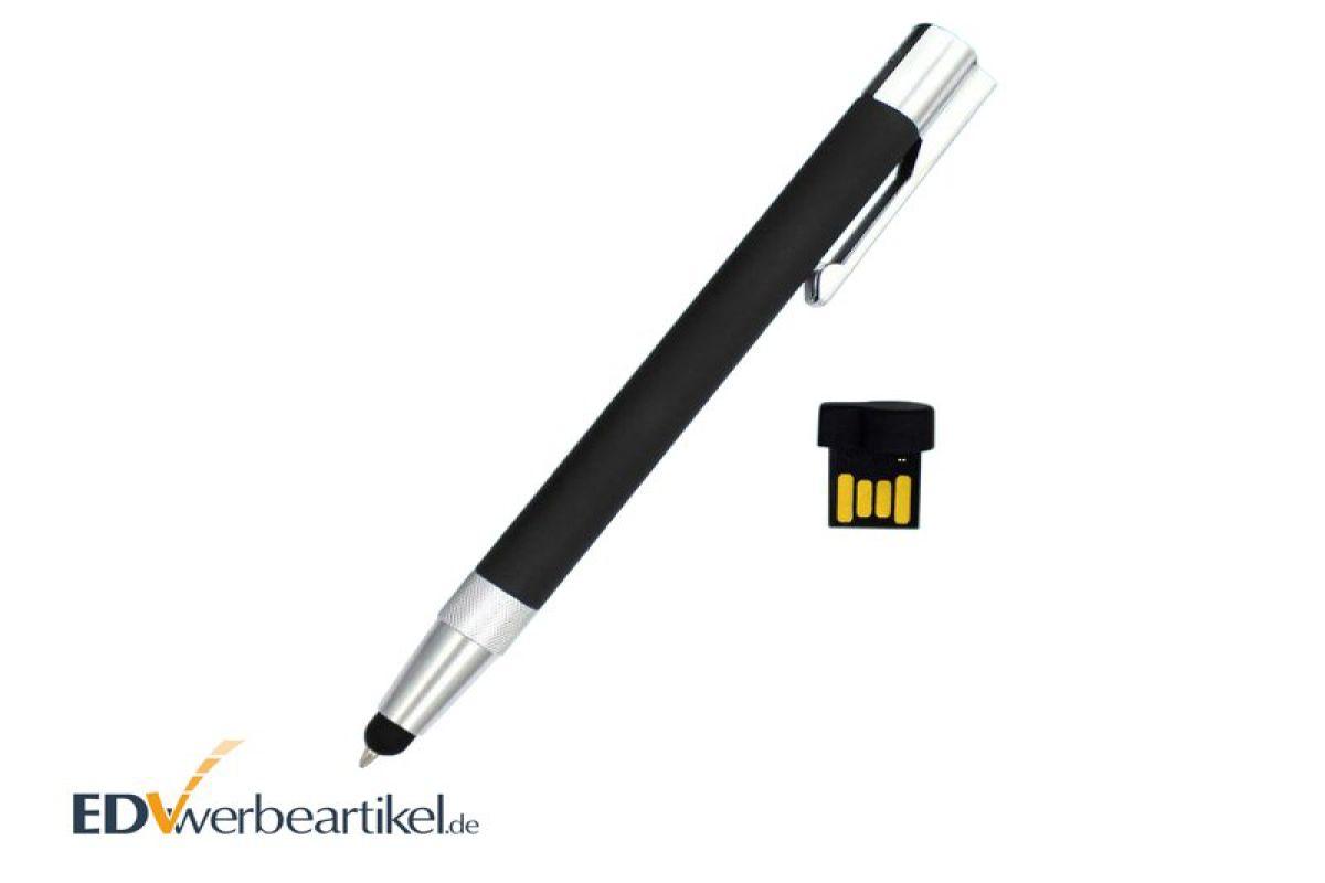 touch pen usb kugelschreiber werbegeschenk eingabestift mit logo. Black Bedroom Furniture Sets. Home Design Ideas