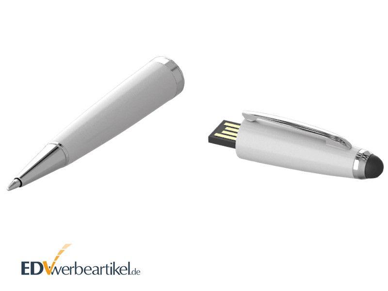 USB Kugelschreiber mit Werbung als Werbeartikel SHARK