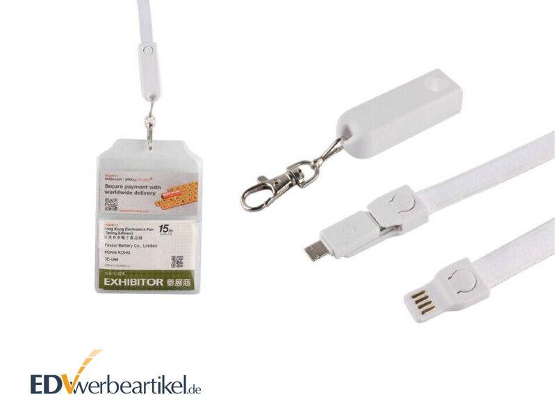 USB Ladekabel LANYARD bedrucken