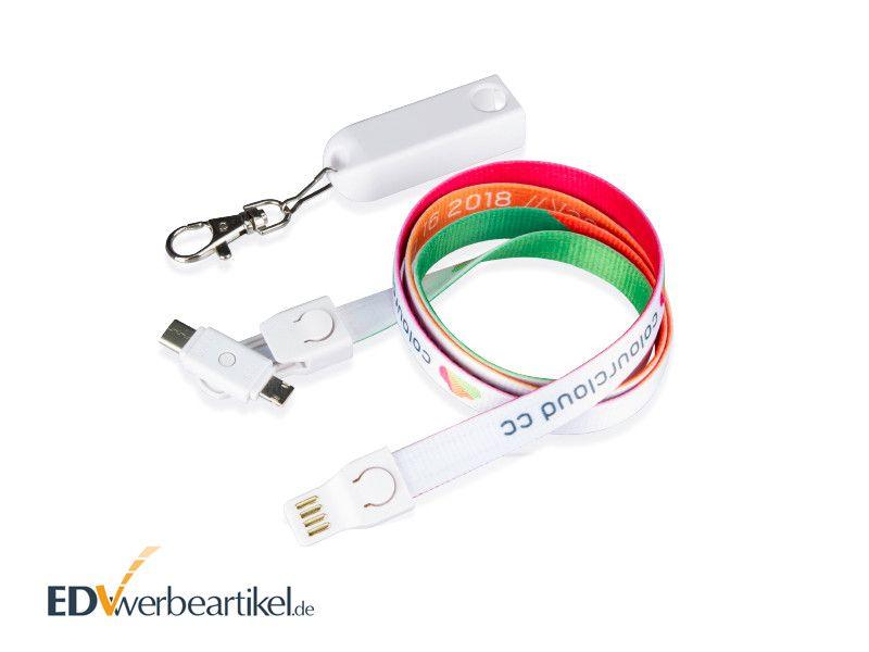 USB Ladekabel LANYARD Werbeartikel
