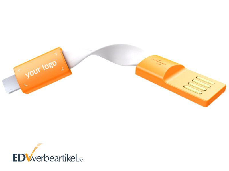 USB Ladekabel Schlüsselanhänger als Werbemittel