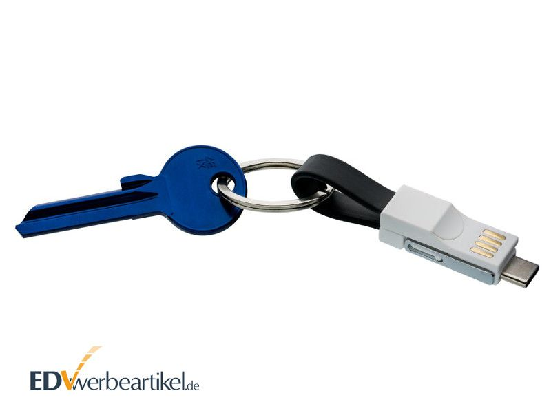 USB Ladekabel Schlüsselanhänger BIRDY
