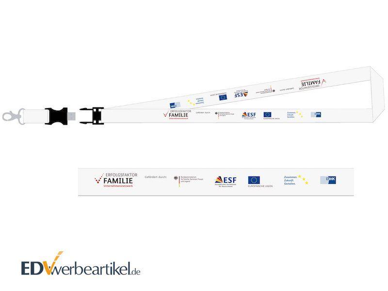 USB Lanyard bedrucken mit Logo als Werbeartikel oder Werbemittel
