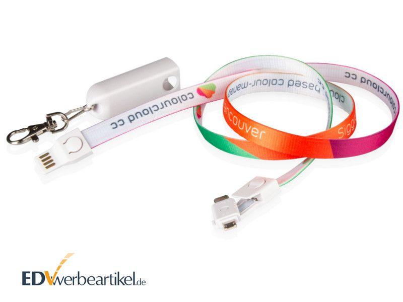 USB Lanyard Ladekabel Werbemittel