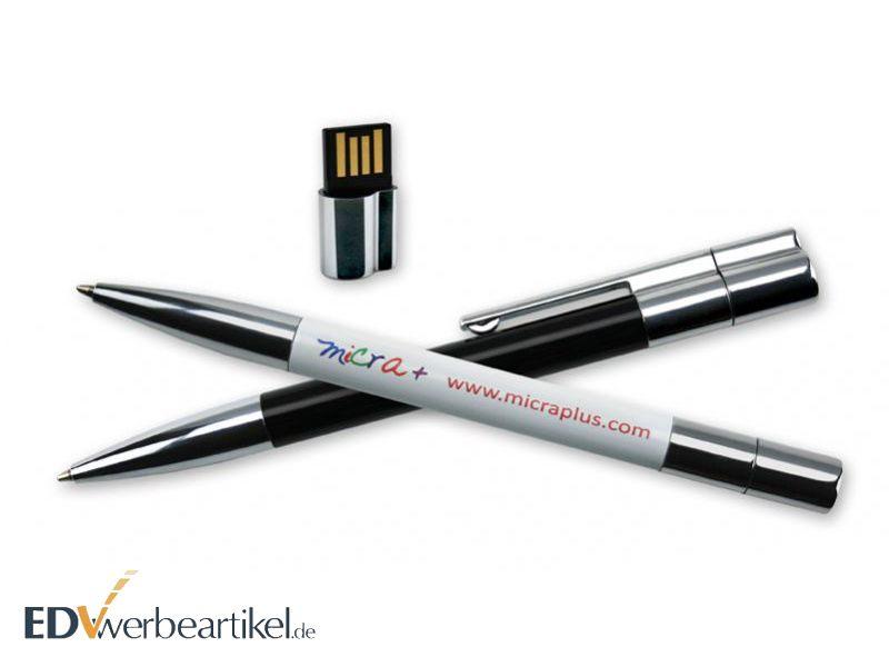 Werbeartikel mit Logo: USB Kugelschreiber