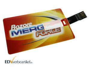 USB Scheckkarte 3.0 mit Logo bedrucken