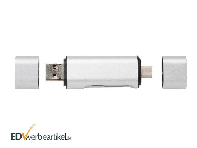 USB SD Kartenleser Typ C Werbeartikel UNIVERSAL