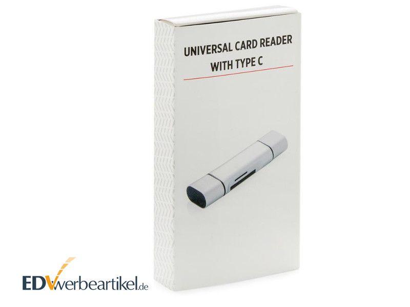 USB SD Kartenleser Typ C Werbegeschenk