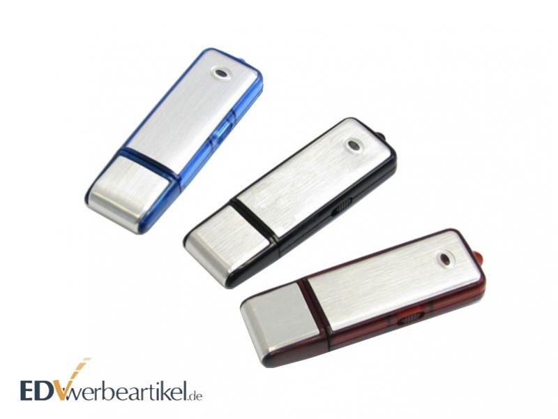 USB Stick Simple aus Aluminium mit Logo gravieren