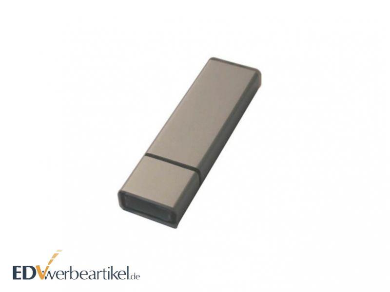 Werbemittel USB Stick aus Aluminium bedrucken