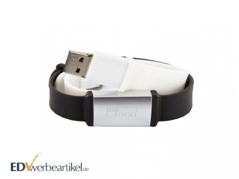 USB Stick Armband Vario mit Werbung oder Logo gravieren und bedrucken