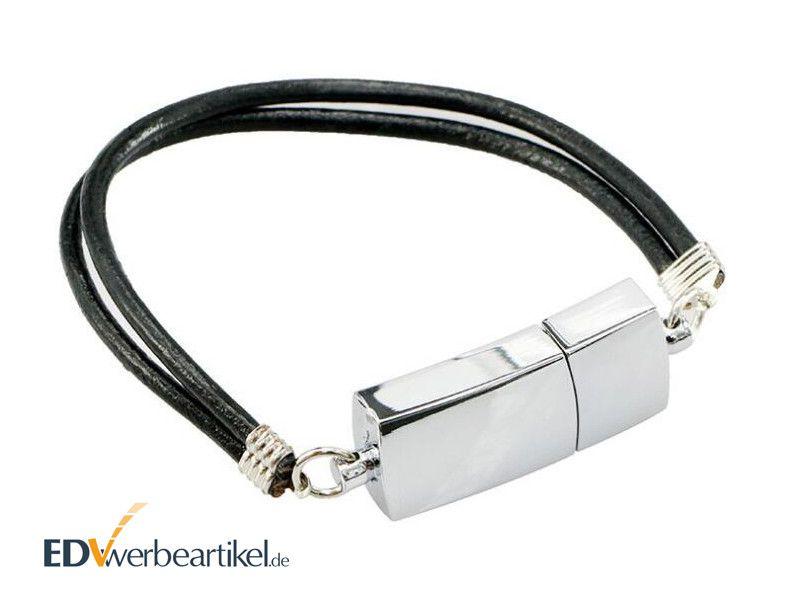 USB Stick Armband Werbemittel Style mit Logo gravieren