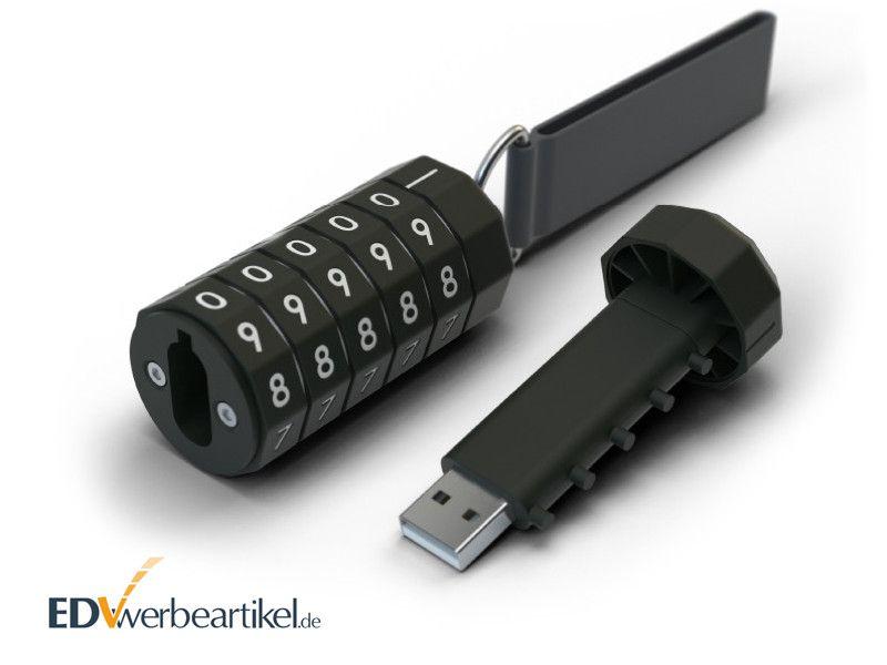 USB Stick bedrucken LOCKED